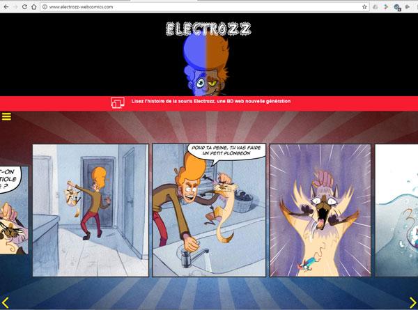 BD interactive «Electrozz»