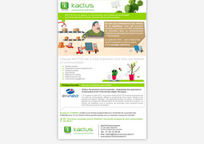 Newsletter Kactus Communication