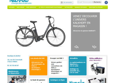 e-commerce Neovelo