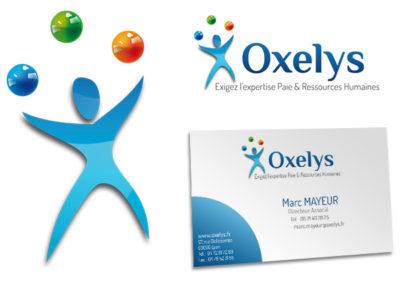 Charte graphique pour Oxelys
