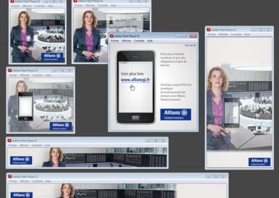 Bannières publicitaires Allianz